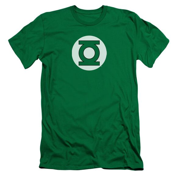 DC GREEN LANTERN LOGO - S/S ADULT 30/1 - KELLY GREEN T-Shirt