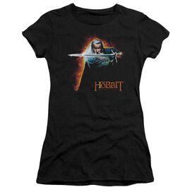 The Hobbit Secret Fire Short Sleeve Junior Sheer T-Shirt
