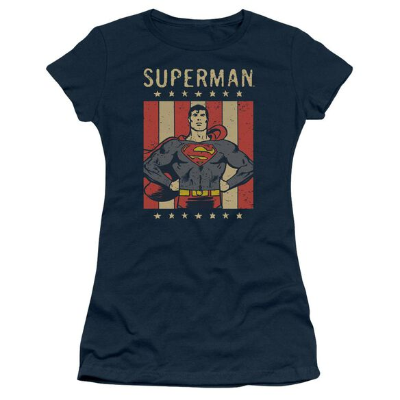 Dc Retro Liberty Short Sleeve Junior Sheer T-Shirt