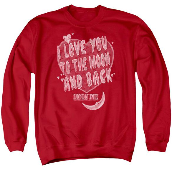 Moon Pie I Love You Adult Crewneck Sweatshirt