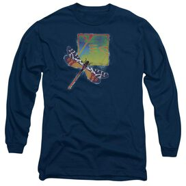 Yes Dragonfly Long Sleeve Adult T-Shirt