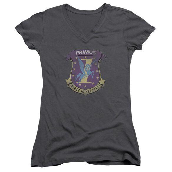 Bsg Primas Badge Junior V Neck T-Shirt