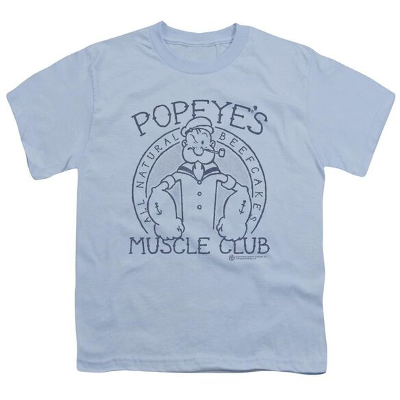Popeye Muscle Club Short Sleeve Youth Light T-Shirt
