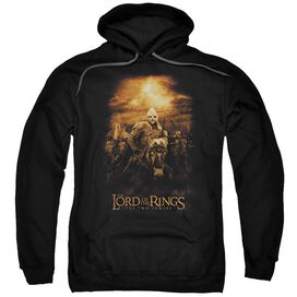 Lor Riders Of Rohan Adult Pull Over Hoodie