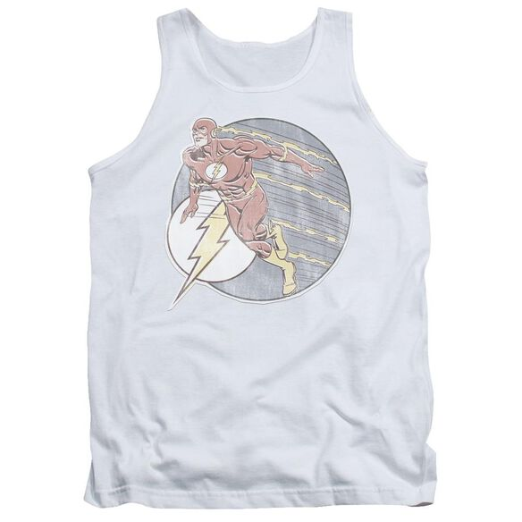 Dco Retro Flash Iron On Adult Tank