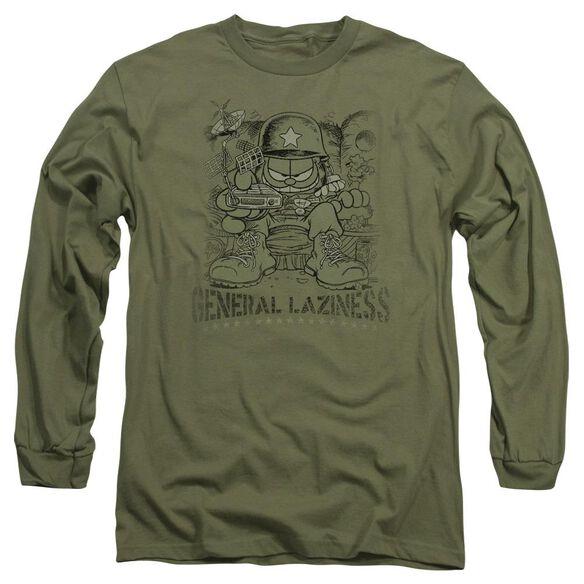 GARFIELD GENERAL LAZINESS-L/S ADULT T-Shirt