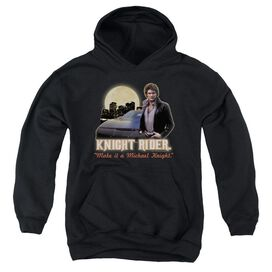 Knight Rider Full Moon Youth Pull Over Hoodie
