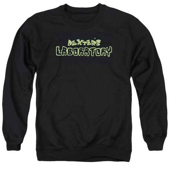 Dexter's Laboratory Dexter's Logo Adult Crewneck Sweatshirt