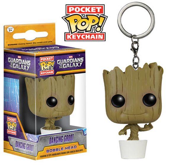 Funko Pocket Pop! Keychain: Guardians of the Galaxy - Dancing Groot [Baby Groot]