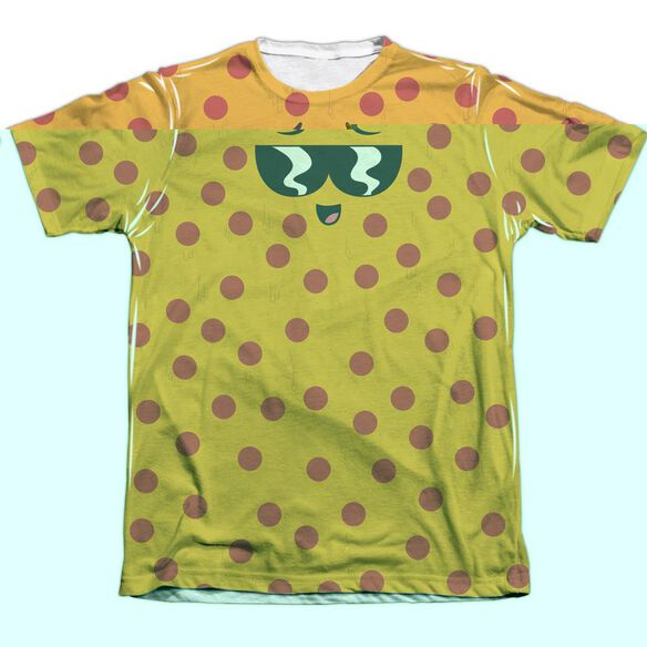 UNCLE GRANDPA PIZZA FACE-ADULT POLY/COTTON T-Shirt