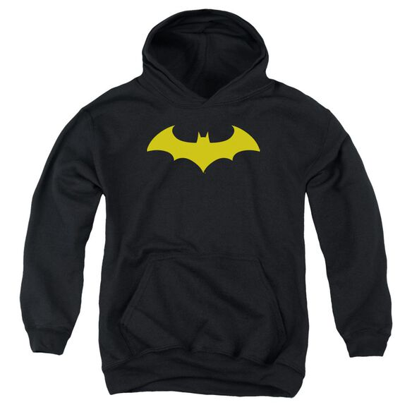 Batman Hush Logo Youth Pull Over Hoodie