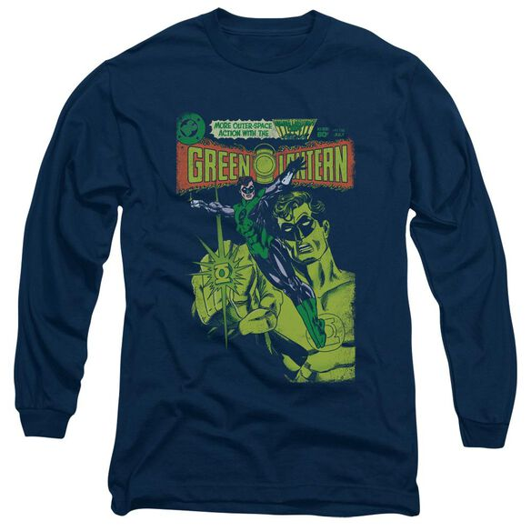 Green Lantern Vintage Cover Long Sleeve Adult T-Shirt