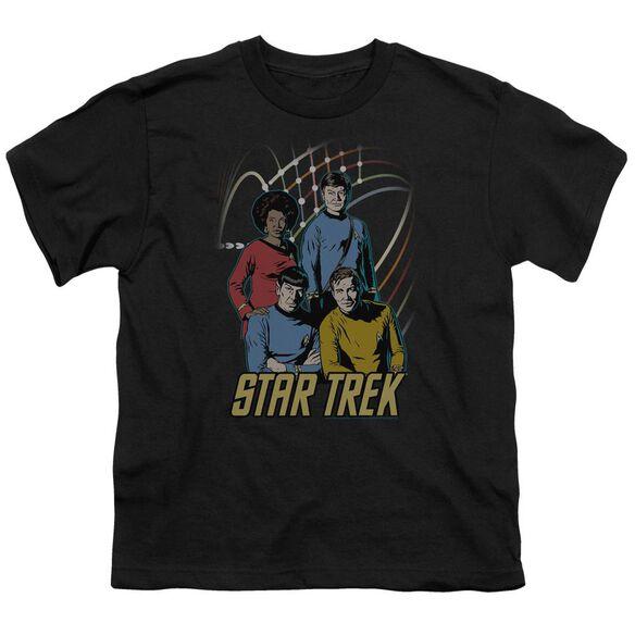Star Trek Warp Factor 4 Short Sleeve Youth T-Shirt