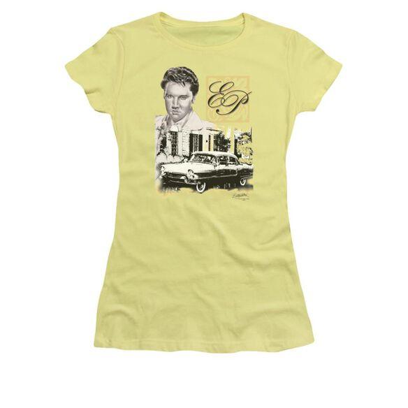 Elvis Ep Short Sleeve Junior Sheer T-Shirt