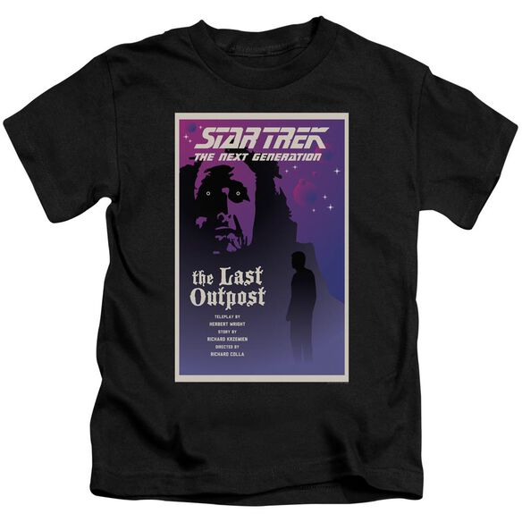 Star Trek Tng Season 1 Episode 5 Short Sleeve Juvenile Black T-Shirt
