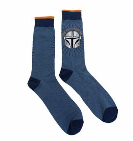 Star Wars The Mandalorian Crew Socks [1 Pair]