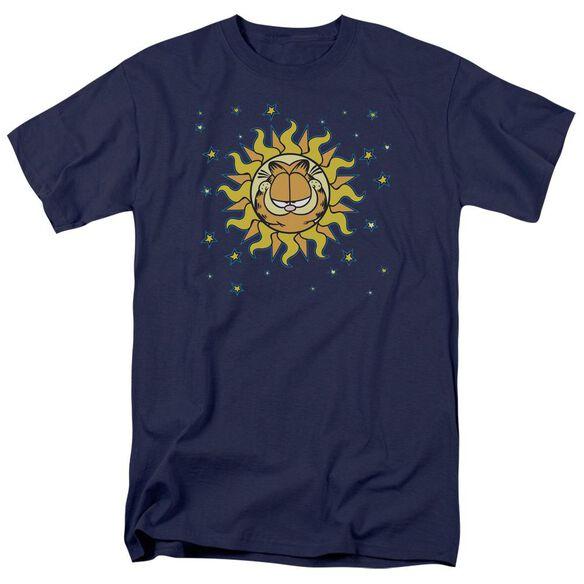 Garfield Celestial Short Sleeve Adult T-Shirt