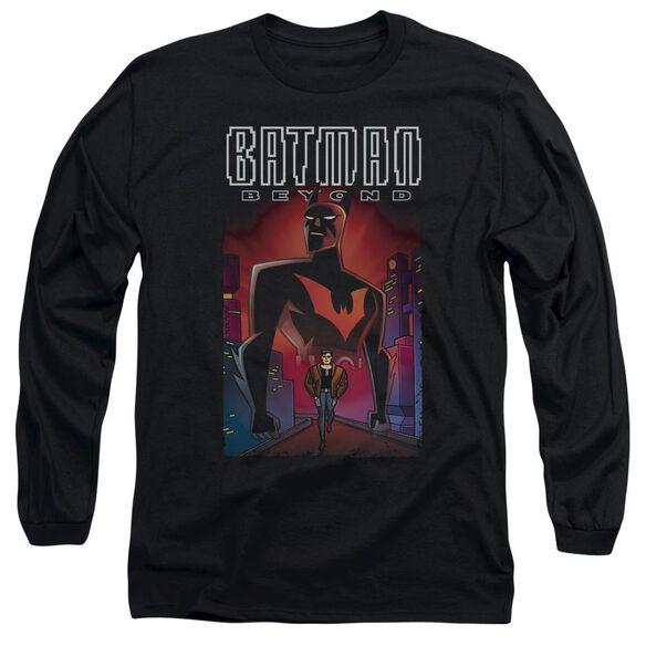 Batman Beyond Facing Fate Long Sleeve Adult T-Shirt