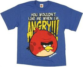 Angry Birds Like Me Youth T-Shirt