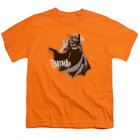 Batman The Drip Knight Short Sleeve Youth T-Shirt