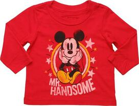 Mickey Mouse Mr Handsome Long Sleeve InfanT-Shirt