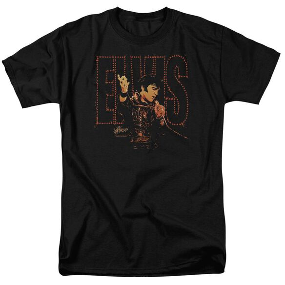 Elvis Take My Hand Short Sleeve Adult T-Shirt