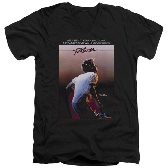 Footloose Poster Short Sleeve Adult V Neck T-Shirt