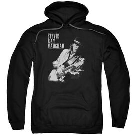 Stevie Ray Vaughan Live Alive Adult Pull Over Hoodie Black