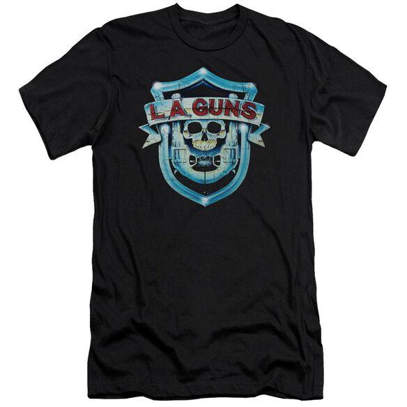 La Guns La Guns Shield Short Sleeve Adult T-Shirt