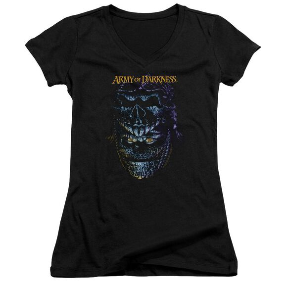 Army Of Darkness Evil Ash Junior V Neck T-Shirt