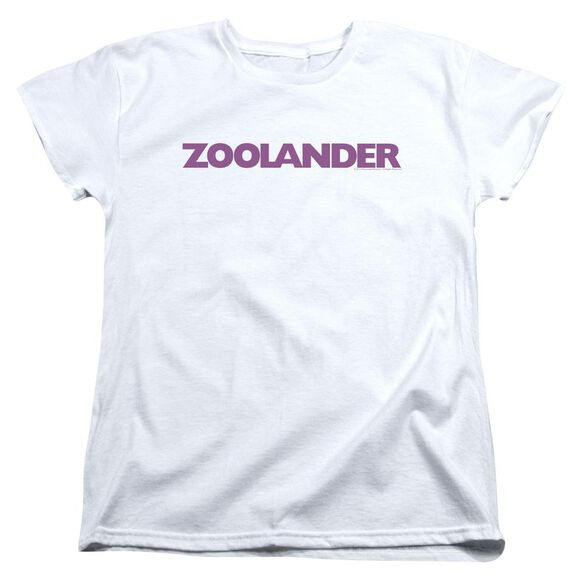 Zoolander Logo Short Sleeve Womens Tee T-Shirt