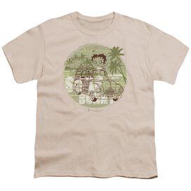Betty Boop California Short Sleeve Youth T-Shirt