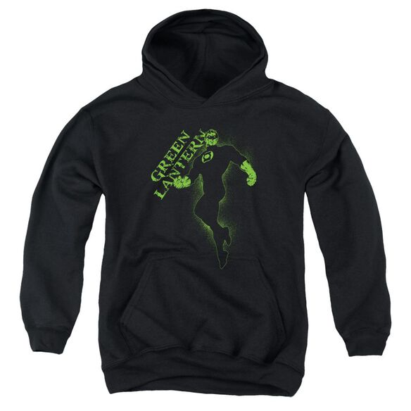 Gl Lantern Darkness Youth Pull Over Hoodie