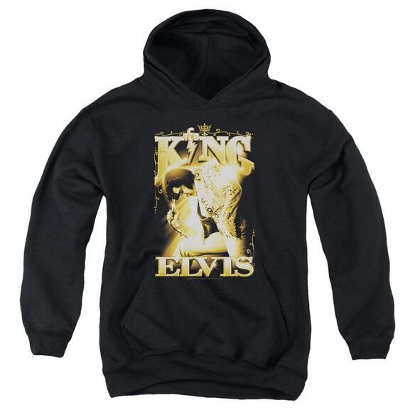 Elvis The King Youth Pull Over Hoodie