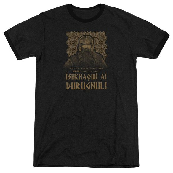 Lord Of The Rings Ishkhaqwi Durugnul Adult Ringer
