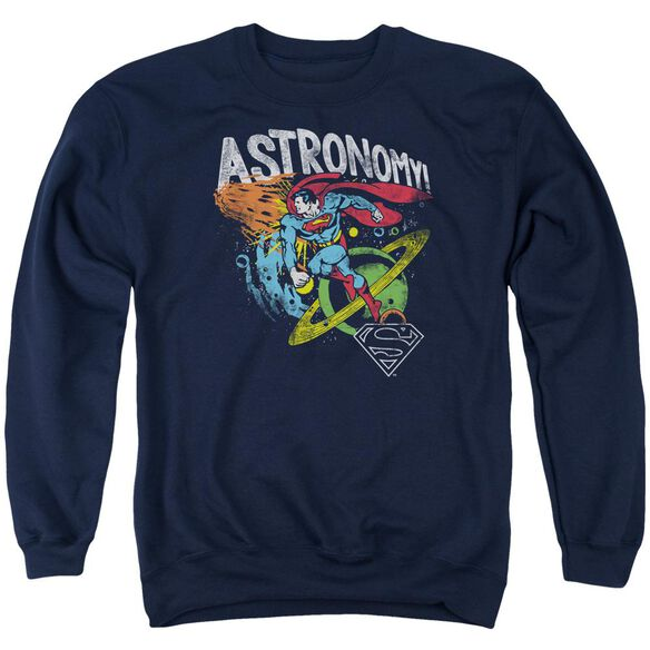 Dc Astronomy Adult Crewneck Sweatshirt