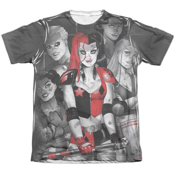 Batman Bad Girls Adult Poly Cotton Short Sleeve Tee T-Shirt