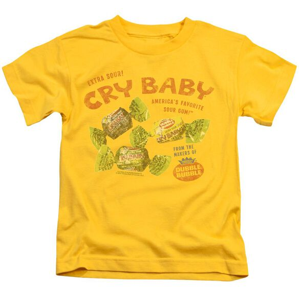 Cry Babies Vintage Ad Short Sleeve Juvenile T-Shirt