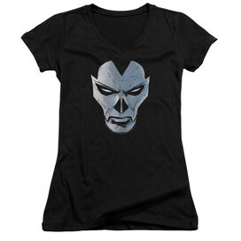 Shadowman Comic Face Junior V Neck T-Shirt