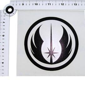 Star Wars Jedi Order Black Decal