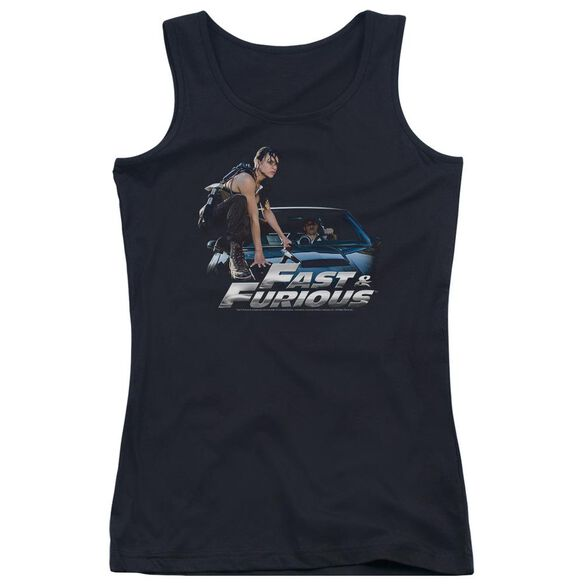 Fast And The Furious Car Ride Juniors Tank Top