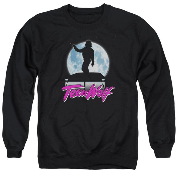 Teen Wolf Moonlight Surf Adult Crewneck Sweatshirt