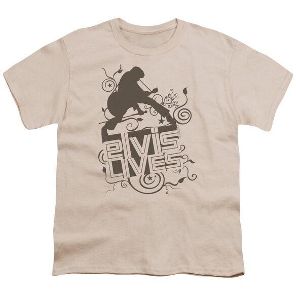 Elvis Elvis Lives Short Sleeve Youth T-Shirt