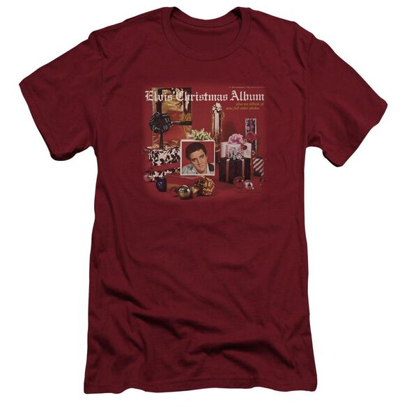 Elvis Christmas Album Short Sleeve Adult T-Shirt