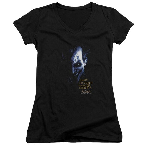 Batman Aa Arkham Joker Junior V Neck T-Shirt