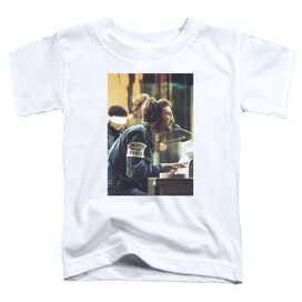 John Lennon Peace Short Sleeve Toddler Tee White T-Shirt