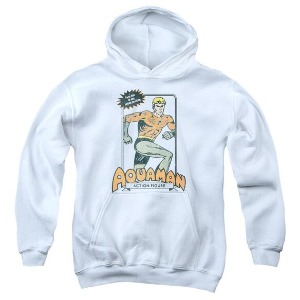 Dc Am Action Figure Youth Pull Over Hoodie