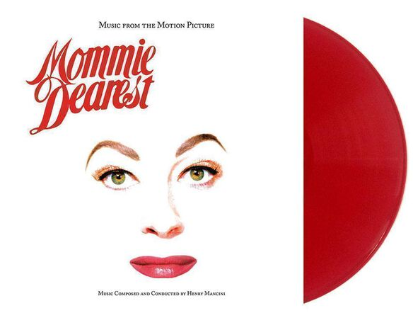 Henry Mancini - Mommie Dearest Music From the Motion Picture [Exclusive Lipstick Red Vinyl]
