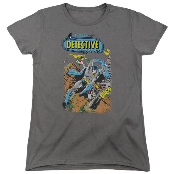 Batman Detective #487 Short Sleeve Womens Tee T-Shirt