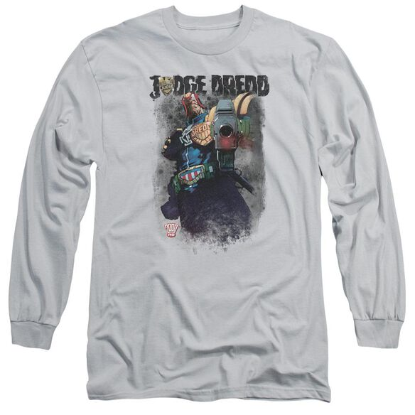 Judge Dredd Last Words Long Sleeve Adult T-Shirt